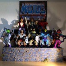 Figuras Masters del Universo: DIORAMA COLOR SNAKE MOUNTAIN PARA TUS FIGURAS MOTU. MASTER. HE MAN. Lote 207078656