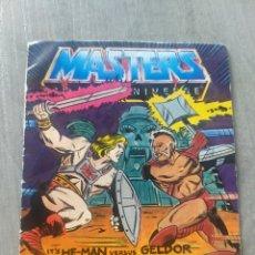Figuras Masters del Universo: MINI CÓMIC - IT'S HE-MAN VERSUS GELDOR - THE SECRET LIQUID OF LIFE. Lote 207107075