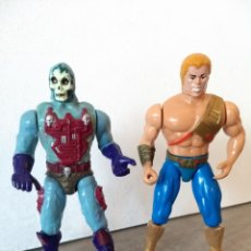 Figuras Masters del Universo: HE-MAN + SKELETOR NUEVAS AVENTURAS NA MASTERS DEL UNIVERSO. Lote 207119651