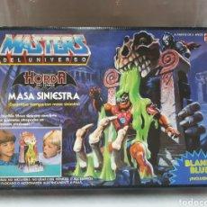 Figuras Masters del Universo: MASTERS DEL UNIVERSO MASA SINIESTRA HORDA DEL TERROR PRECINTADO NUEVO A ESTRENAR!!!. Lote 207135492