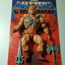 Figuras Masters del Universo: HE-MAN MALASYA 100% COMPLETO MASTERS DEL UNIVERSO MOTU HEMAN XX. Lote 207195592