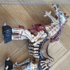 Figuras Masters del Universo: CABALLO SKELETOR MASTERS DEL UNIVERSO PLAYMATES TOYS 1994 HEMAN. Lote 207293936