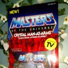 Figuras Masters del Universo: FIGURA EN BLISTER CRYSTAL MAN-AT-ARMS - MASTERS DEL UNIVERSO - SUPER 7 - NEOVINTAGE - 2019. Lote 208183486