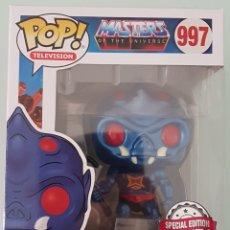 Figuras Masters del Universo: INCREIBLE FUNKO POP WEBSTOR METÁLICO MASTERS DE UNIVERSO MOTU. Lote 208658452