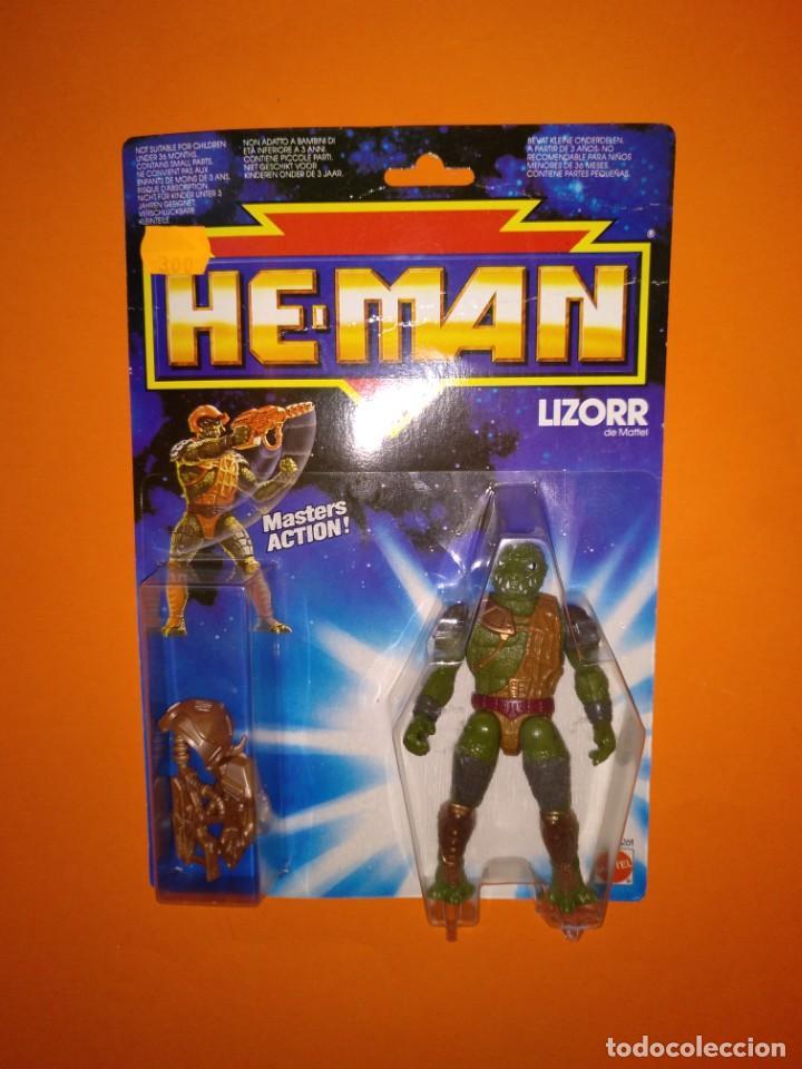 LIZORR HE-MAN MASTERS DEL UNIVERSO- MATTEL - 1990 (Juguetes - Figuras de Acción - Master del Universo)