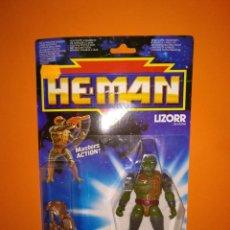 Figuras Masters del Universo: LIZORR HE-MAN MASTERS DEL UNIVERSO- MATTEL - 1990. Lote 209035655