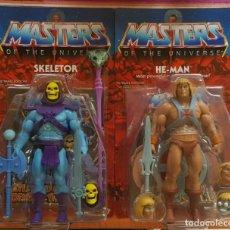 Figuras Masters del Universo: SKELETOR & HE-MAN ULTIMATE 2.0 FILMATION MASTERS DEL UNIVERSO CLASSICS MOTUC MASTERS OF THE UNIVERSE. Lote 193432907