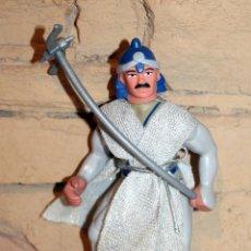 Figuras Masters del Universo: GUERREROS MINYAS. JUYBA. BOOTLEG FIGURA ACCION NINJA. MOTU MASTERS HEMAN. Lote 209367308