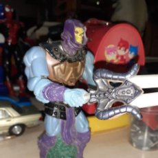 Figuras Masters del Universo: SKELETOR,FIGURA PROCEDENTE DEL JUEGO ROCK'EM SHOCK'EM HE MAN VS.SKELETOR 2002.. Lote 210006105