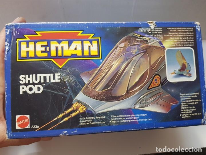 HE-MAN SHUTTLE POD REF.3336 EN CAJA ORIGINAL SIN ABRIR (Juguetes - Figuras de Acción - Master del Universo)