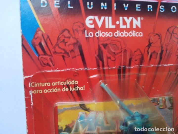 Figuras Masters del Universo: MOTU MASTERS DEL UNIVERSO EVIL LYN BLISTER ESPAÑOL MATTEL 1985 raro en blister - Foto 2 - 210346365