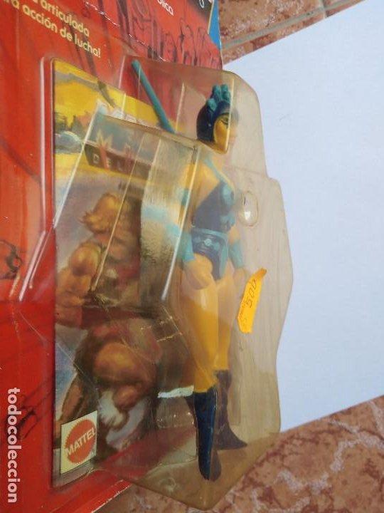 Figuras Masters del Universo: MOTU MASTERS DEL UNIVERSO EVIL LYN BLISTER ESPAÑOL MATTEL 1985 raro en blister - Foto 3 - 210346365