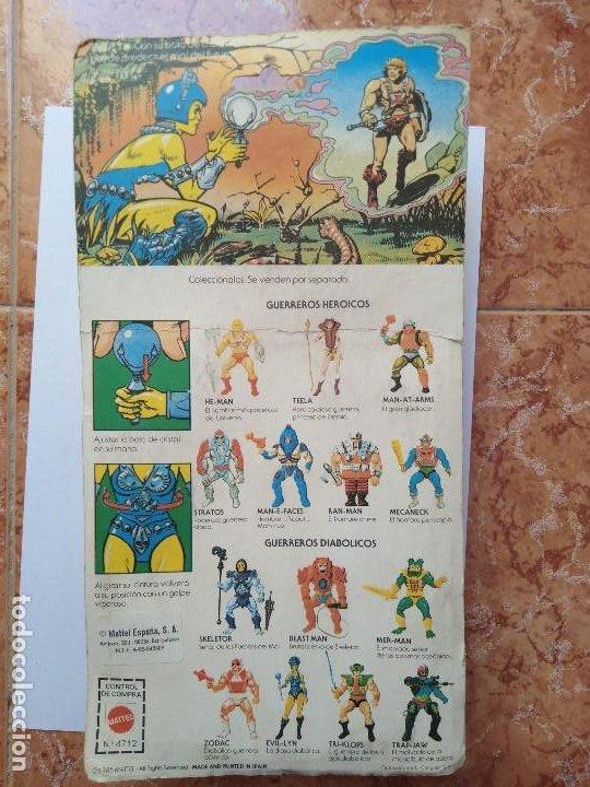Figuras Masters del Universo: MOTU MASTERS DEL UNIVERSO EVIL LYN BLISTER ESPAÑOL MATTEL 1985 raro en blister - Foto 6 - 210346365