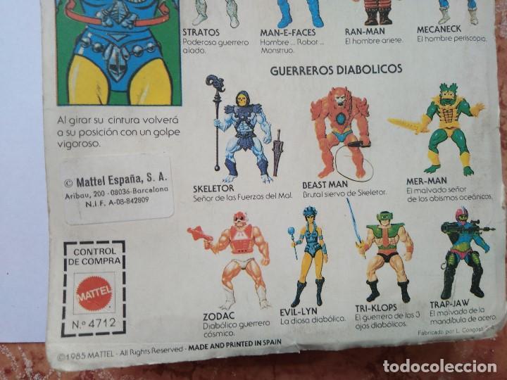 Figuras Masters del Universo: MOTU MASTERS DEL UNIVERSO EVIL LYN BLISTER ESPAÑOL MATTEL 1985 raro en blister - Foto 7 - 210346365