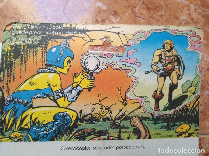 Figuras Masters del Universo: MOTU MASTERS DEL UNIVERSO EVIL LYN BLISTER ESPAÑOL MATTEL 1985 raro en blister - Foto 10 - 210346365