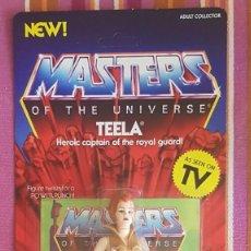 Figuras Masters del Universo: TEELA NEOVINTAGE MASTERS DEL UNIVERSO SUPER 7 MOTU HE-MAN. Lote 169737928