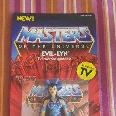 Figuras Masters del Universo: EVILLYN EVIL-LYN EVIL LYN VINTAGE MOTU NEOVINTAGE MASTERS OF THE UNIVERSE SUPER7 HE-MAN NEW. Lote 202521922