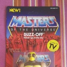 Figuras Masters del Universo: BUZZ-OFF BUZZOFF VINTAGE MOTU NEOVINTAGE MASTERS OF THE UNIVERSE SUPER7 HE-MAN NEW. Lote 202523683
