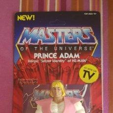 Figuras Masters del Universo: PRINCIPE ADAM NEOVINTAGE MASTERS DEL UNIVERSO SUPER 7 MOTU HE-MAN. Lote 202940010