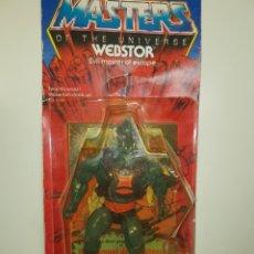 Figuras Masters del Universo: BLISTER WEBSTOR MALASYA MASTERS DEL UNIVERSO MOTU HEMAN. Lote 210408310
