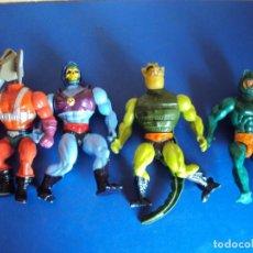 Figuras Masters del Universo: (JU-200701)LOTE DE 4 MASTERS DEL UNIVERSO - MATTEL. Lote 211573525