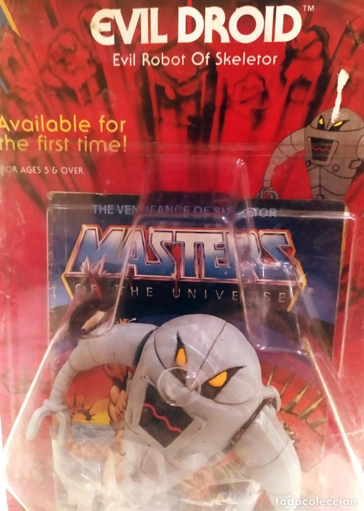 EVIL ROBOT OF SKELETOR, MASTERS DEL UNIVERSO, NUEVO 1984 (Juguetes - Figuras de Acción - Master del Universo)
