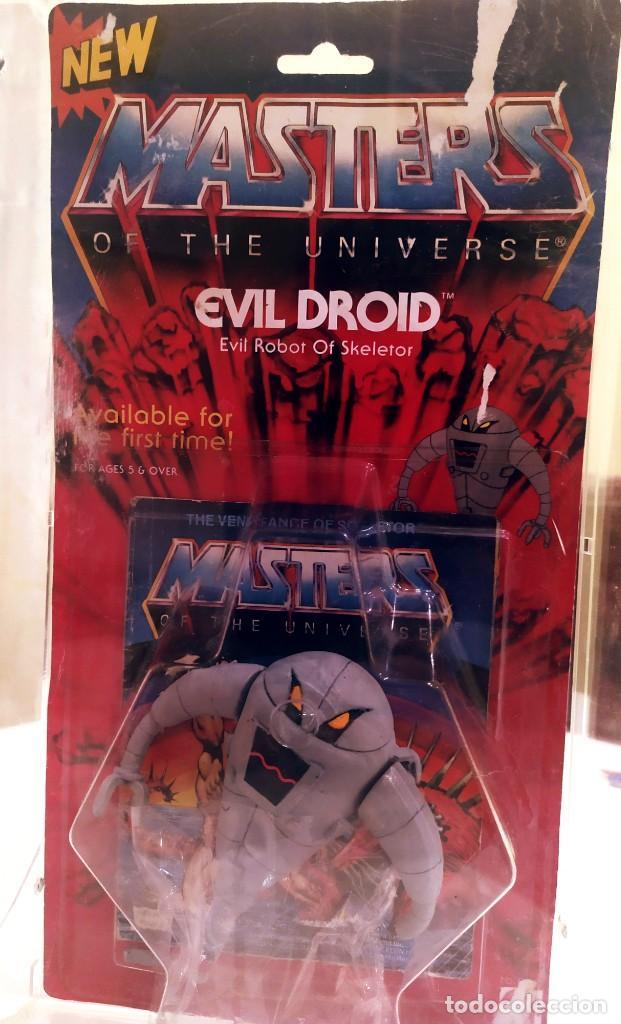 Figuras Masters del Universo: EVIL ROBOT OF SKELETOR, MASTERS DEL UNIVERSO, NUEVO 1984 - Foto 2 - 213202365