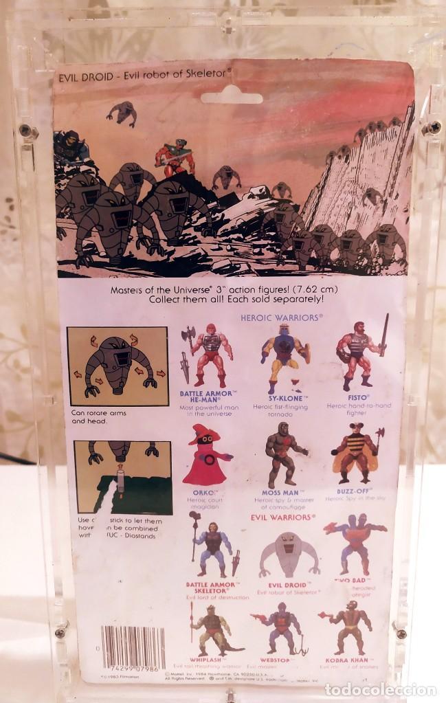 Figuras Masters del Universo: EVIL ROBOT OF SKELETOR, MASTERS DEL UNIVERSO, NUEVO 1984 - Foto 3 - 213202365