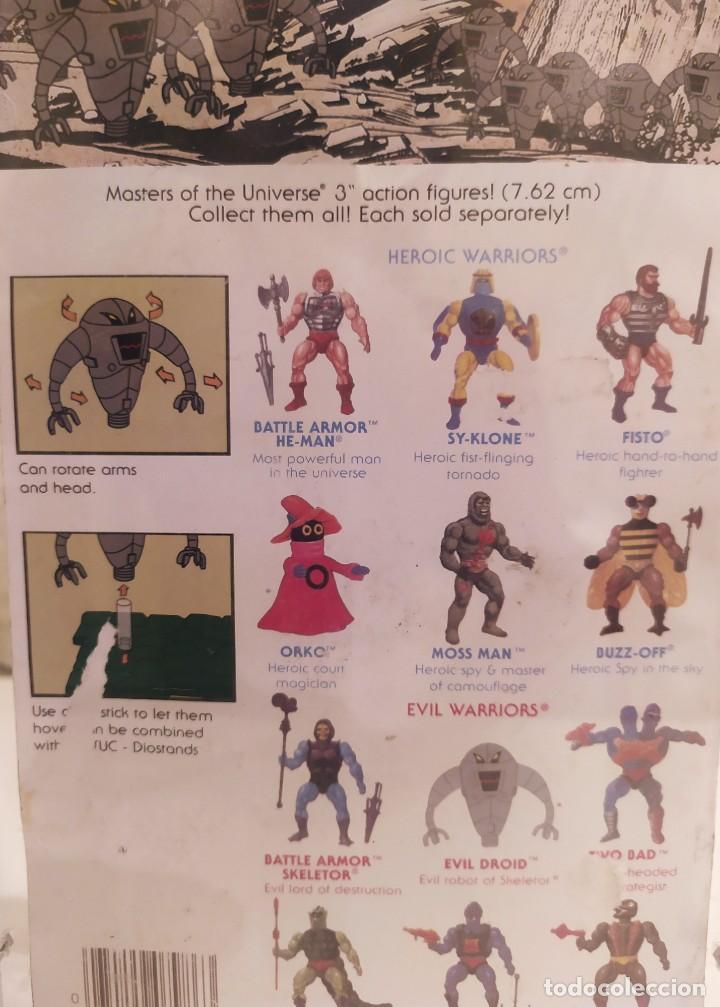 Figuras Masters del Universo: EVIL ROBOT OF SKELETOR, MASTERS DEL UNIVERSO, NUEVO 1984 - Foto 4 - 213202365