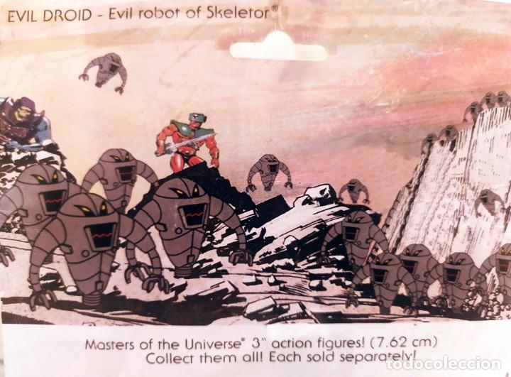Figuras Masters del Universo: EVIL ROBOT OF SKELETOR, MASTERS DEL UNIVERSO, NUEVO 1984 - Foto 6 - 213202365