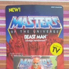 Figuras Masters del Universo: BEAST-MAN NEOVINTAGE MASTERS DEL UNIVERSO SUPER 7 MOTU HE-MAN. Lote 243664305