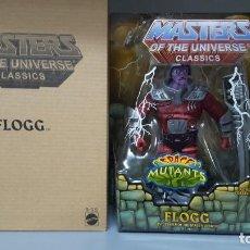 Figuras Masters del Universo: FLOGG HE-MAN MOTUC MASTERS OF THE UNIVERSE CLASSICS. Lote 213649942