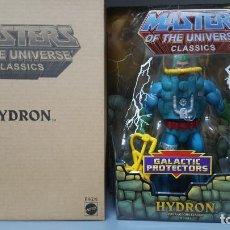 Figuras Masters del Universo: HYDRON HE-MAN MOTUC MASTERS OF THE UNIVERSE CLASSICS. Lote 213652318