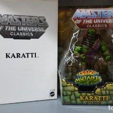 Figuras Masters del Universo: KARATTI HE-MAN MOTUC MASTERS OF THE UNIVERSE CLASSICS NA NEW ADVENTURES. Lote 213652871