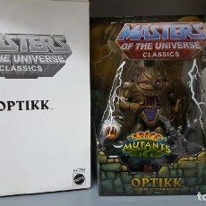 Figuras Masters del Universo: OPTIKK HE-MAN MOTUC MASTERS OF THE UNIVERSE CLASSICS NA NEW ADVENTURES. Lote 213653640