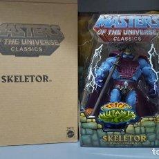 Figuras Masters del Universo: SKELETOR INTERGALACTIC OVERLORD HE-MAN MOTUC MASTERS OF THE UNIVERSE CLASSICS NA NEW ADVENTURES. Lote 213653980