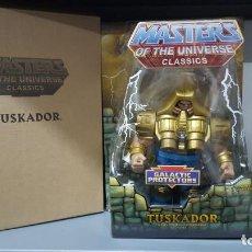 Figuras Masters del Universo: TUSKADOR INSYZOR HE-MAN MOTUC MASTERS OF THE UNIVERSE CLASSICS NA NEW ADVENTURES. Lote 213654293
