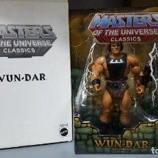 Figuras Masters del Universo: WUN-DAR HE-MAN MOTUC MASTERS OF THE UNIVERSE CLASSICS. Lote 213654716