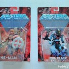 Figuras Masters del Universo: LOTE 2 BLISTERS HEMAN Y SKELETOR - MASTERS OF THE UNIVERSE, HE-MAN Y SKELETOR - ERICTOYS. Lote 213658720