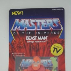 "Figure Masters del Universo: BEAST MAN SUPER 7 VINTAGE HE-MAN MOTU MASTERS OF THE UNIVERSE ""NUEVO"". Lote 213820318"