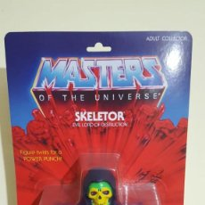 "Figuras Os Masters do Universo: GIANT SKELETOR HE-MAN MOTU MASTERS OF THE UNIVERSE 30 CMS. ""NUEVO"". Lote 213821741"