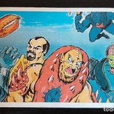 Figuras Masters del Universo: ANTIGUO Y RARO CALENDARIO DE BOLSILLO PORTUGUÉS 1987 MASTERS DEL UNIVERSO MOTU. Lote 214324125