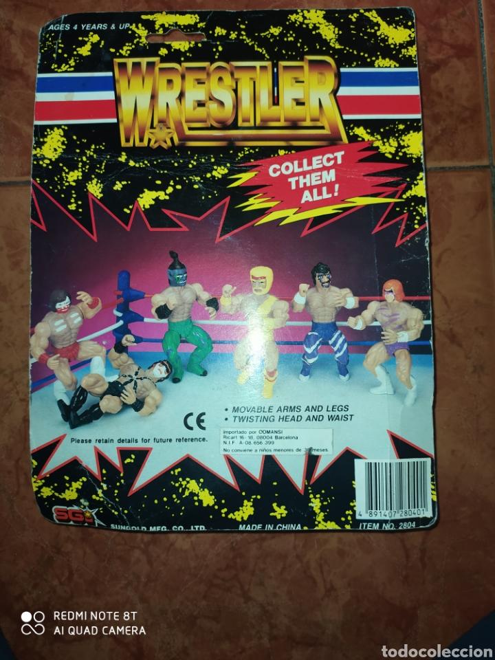 Figuras Masters del Universo: Luchador muñeco Wrestler Comansi Bootleg masters del Universo En Blister. - Foto 2 - 214706541