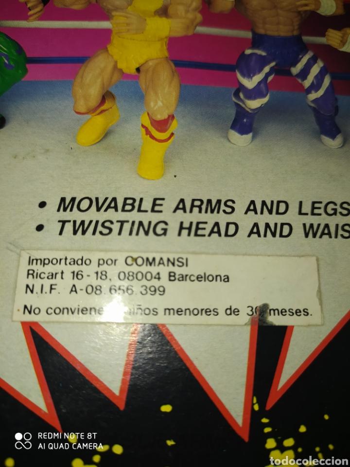 Figuras Masters del Universo: Luchador muñeco Wrestler Comansi Bootleg masters del Universo En Blister. - Foto 3 - 214706541