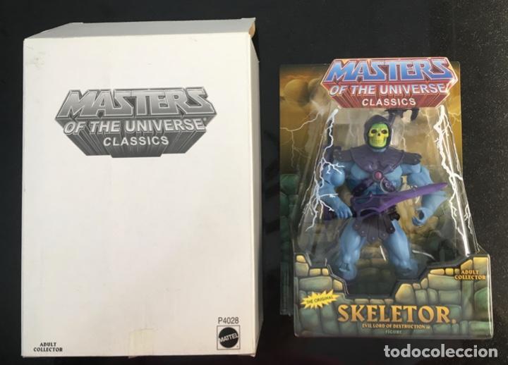 RESERVADO SKELETOR MOTU CLASSICS MASTERS DEL UNIVERSO NUEVO (Juguetes - Figuras de Acción - Master del Universo)