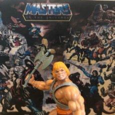 Figuras Masters del Universo: VARIANTE ! HE-MAN MADE IN MALAYSIA CABEZA DURA VARIANTE VIRUS. Lote 215799412