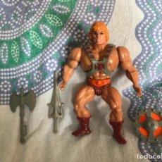 Figurines Maîtres de l'Univers: FIGURA HE-MAN MASTERS DEL UNIVERSO MOTU MATTEL INC MALAYSIA CABEZA DURA MASTERS OF THE UNIVERSE¹. Lote 215995958