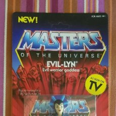 Figuras Masters del Universo: EVILLYN EVIL-LYN EVIL LYN VINTAGE MOTU NEOVINTAGE MASTERS OF THE UNIVERSE SUPER7 HE-MAN NEW. Lote 243664315