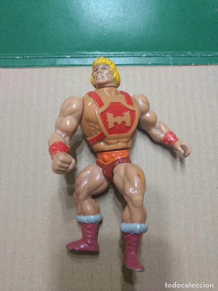 HE MAN - FIGURA MASTER DEL UNIVERSO HE-MAN MADE IN SPAIN AÑO 1984 (Juguetes - Figuras de Acción - Master del Universo)