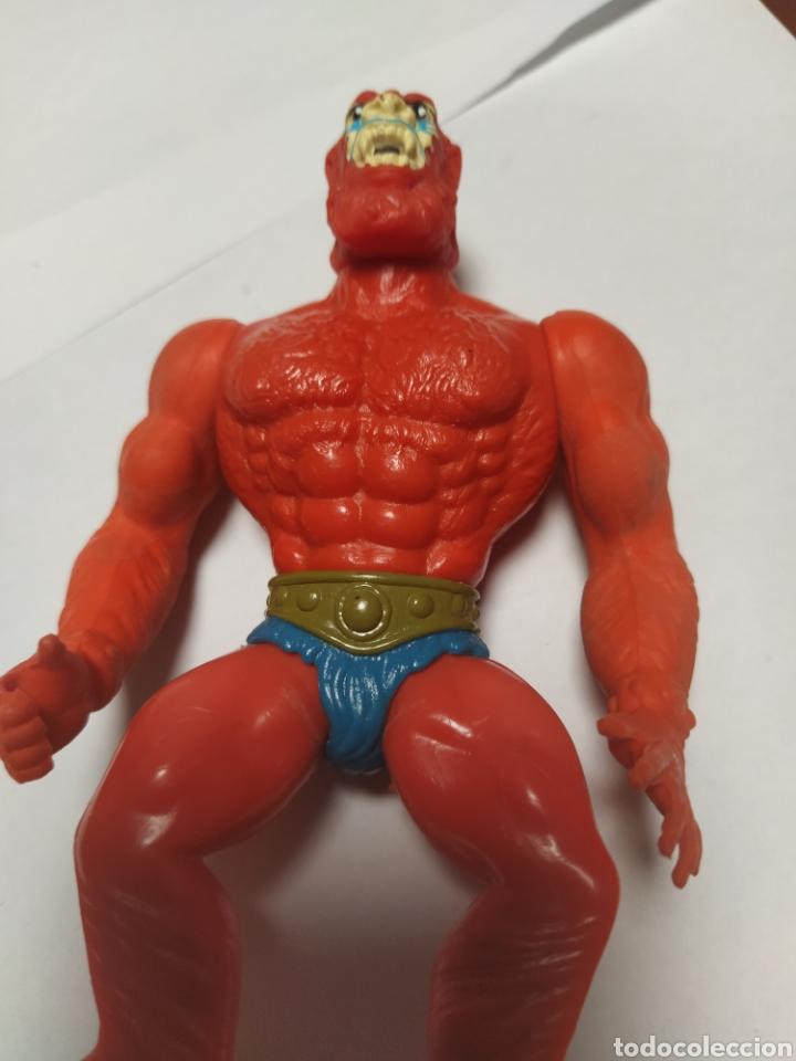 BEAST MAN SIN ARMADURA COMO SE VE (Juguetes - Figuras de Acción - Master del Universo)
